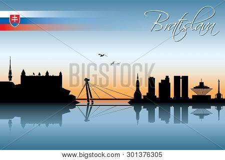 Bratislava Skyline - Vector Illustration - Vector
