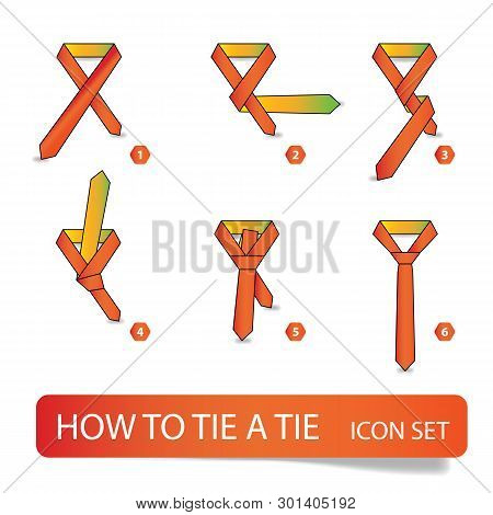 How To Dress Instructions - How To Tie A Tie