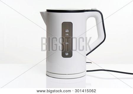 Electric Kettler Or Water Boiler Kitchen Appliance