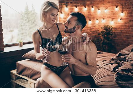 Nude Intimate Partners Event Holiday Red Beverage Want Party Intercourse. Pretty Elegant Slim Beauti