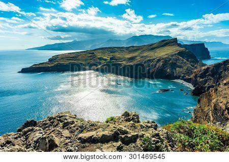 Incredible View Of The Cliffs At Ponta De Sao Lourenco, Madeira