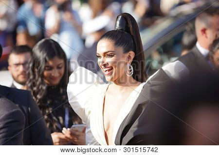 Deepika Padukone attends the screening of