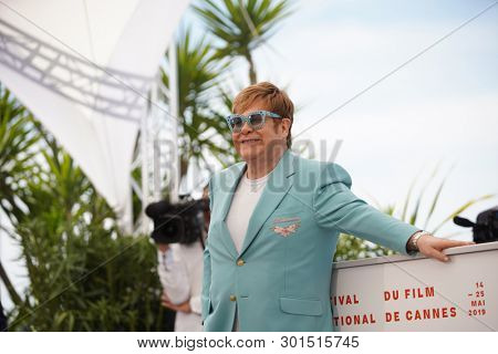 Elton John attends the photocall for