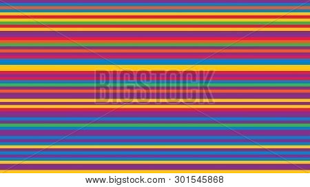 Abstract Background From Multi-colored Shaped Lines. Background For Design.
