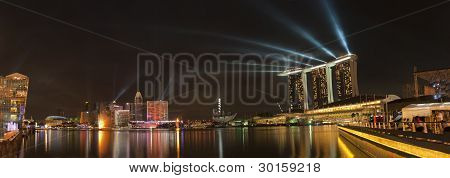 Save Download Preview Singapore Skyline and view of Marina Bay