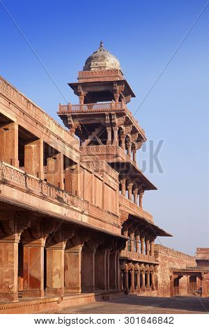 Fatehpur Sikri, The Old City Of Maharajahs At Agra, India