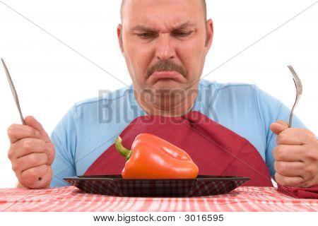 Unhappy Dieter