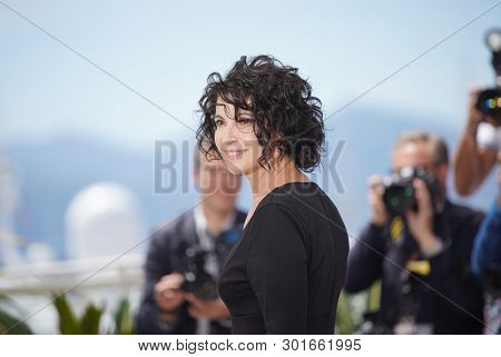 Zabou Breitman attends the photocall for