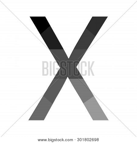 T-shirt Message - X Unnamed - Mister X Design Unit For Stylish T-shirt. Fashionable Print For Urban