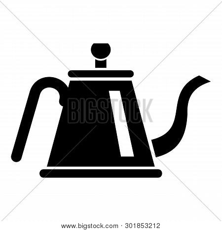 Teapot With Ceremony Icon. Simple Illustration Of Teapot With Ceremony Icon For Web