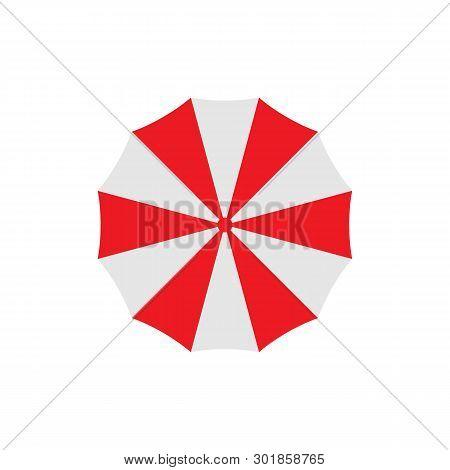 Umbrella Icon Isolated On White Background. Umbrella Icon Simple Sign. Umbrella Icon Trendy And Mode
