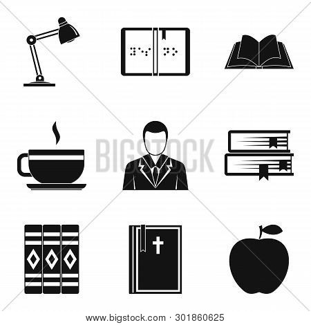 Browse Icons Set. Simple Set Of 9 Browse Icons For Web Isolated On White Background