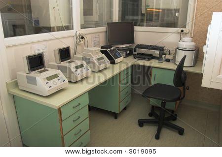 Microbiology Laboratory Workplace