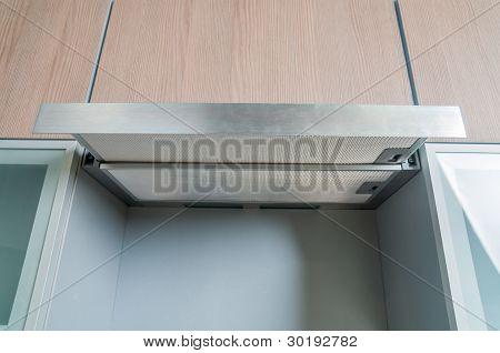 detail in a modern kitchen