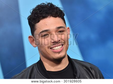 LOS ANGELES - MAY 18:  Anthony Ramos arrives for the 'Godzilla: King of the Monstersl' Hollywood Premiere on May 18, 2019 in Hollywood, CA