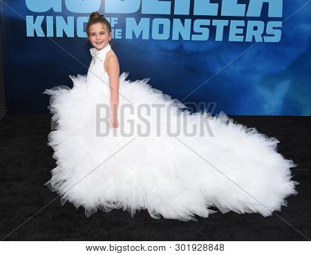 LOS ANGELES - MAY 18:  Lexi Rabe arrives for the 'Godzilla: King of the Monstersl' Hollywood Premiere on May 18, 2019 in Hollywood, CA