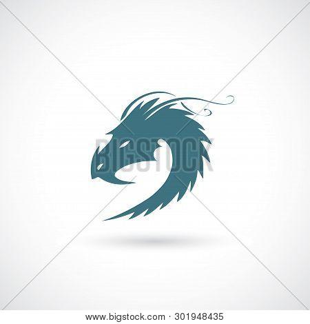 Dragon Sign - Vector Illustration - Vector