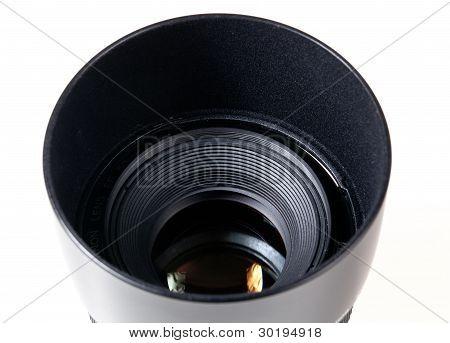 Lens Hood And Lens