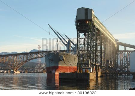 Grain Terminal, Burrard Inlet, Vancouver