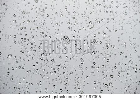 Moving Raindrops On The Glass, Raindrops On Glass, A Nice Way Raindrops On Glass,