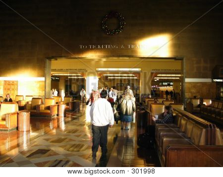 Sunlit Main Hall