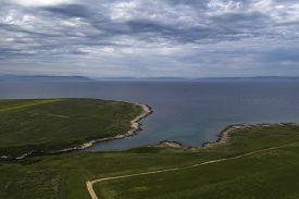 Cool And Cloudy Day In Kuvisela Lagoon In Liznjan, Croatia