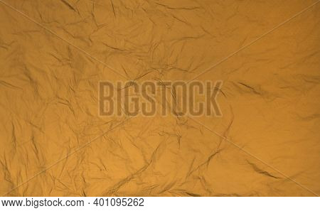 Abstract Horizontal Background In Ocher, Sand Color.