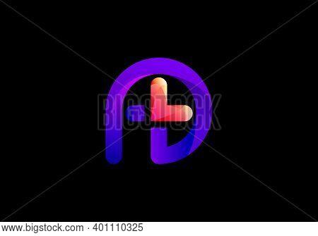 P Logo, P With Plus Logo, Medical Logo