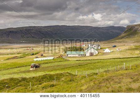 Muli Village - Iceland, Vestfjord.