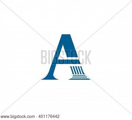 A Alphabet Law Firm Logo Design Concept
