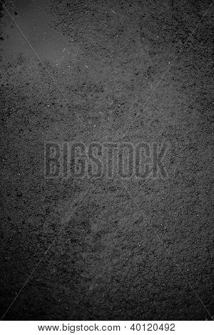 Wet Asphalt Background