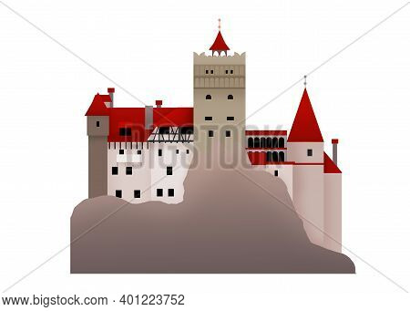 The House Of Dracula Bran Castle From Transylvanian Romania