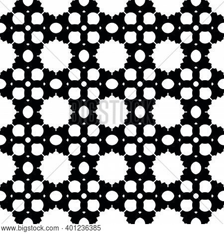 Stylish Pattern With Black Pattern Design Modern On White Background. Creative Stylish Background