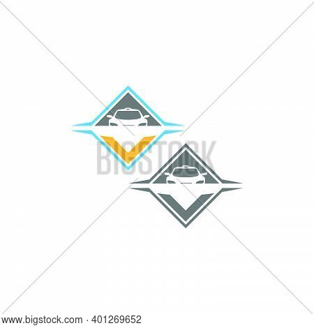 Auto Car Illustration Logo Vector