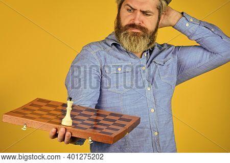 Chess Figure. Intellectual Game. Grandmaster Player. Chess Lesson. Cognitive Development. Enjoy Tour