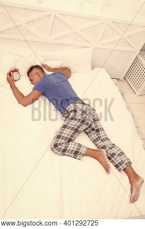 Sleeping Guy At Home. Lack Of Motivation. Sleep Disorders. Good And Healthy Sleep. Handsome Man In B