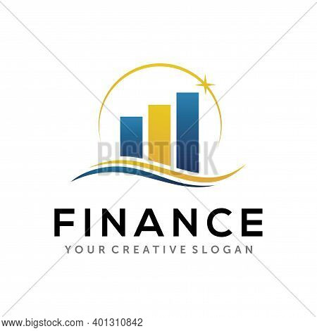 Finance Logo. Business, And Accounting Logo Design Template