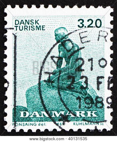 Postage Stamp Denmark 1989 The Little Mermaid, Sculpture By Edvard Eriksen