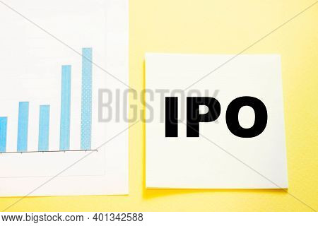 The Text Ipo Initial Public Offering Denoting An Initial Public Offering - The Transfer Of A Company