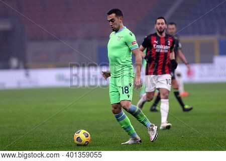 Milano, Italy. 23th December 2020. Gonzalo Escalante Of Ss Lazio  During The Serie A Match Between A