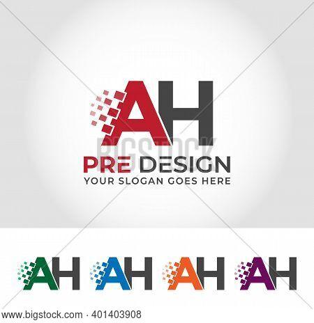 Ah Alphabet Creative Logo Design Concept Company