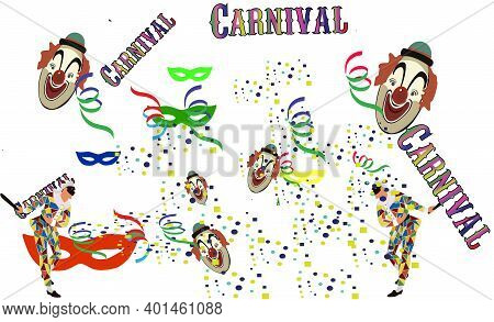 Confetti Masks Streamers Carnival Party Confetti Masks Streamers Carnival Party