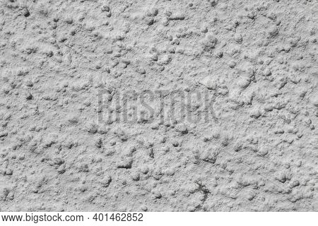 Plaster Work On The Wall Inside Or Outside The House For Background