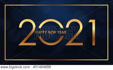 Happy New Year 2021. Happy New Year 2021 Background Illustration Template. 2021 Happy New Year Backg