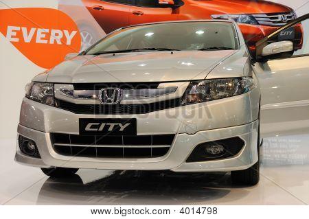 Honda City On Display