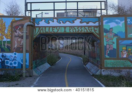 Menomonee Valley Passage Bridge