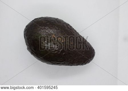 Avocado, Hass Variety - A Large Fruit With A Dark Purple Skin, One Of The Most Commercially Popular