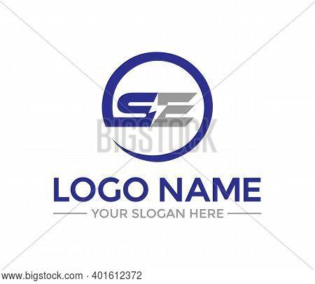 Se Energy Modern Logo Design Company Concept