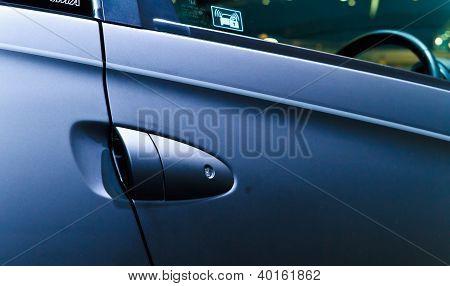 Honda Ts-1X's Door Handle