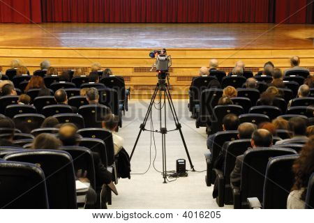 Camera At Conference Hall